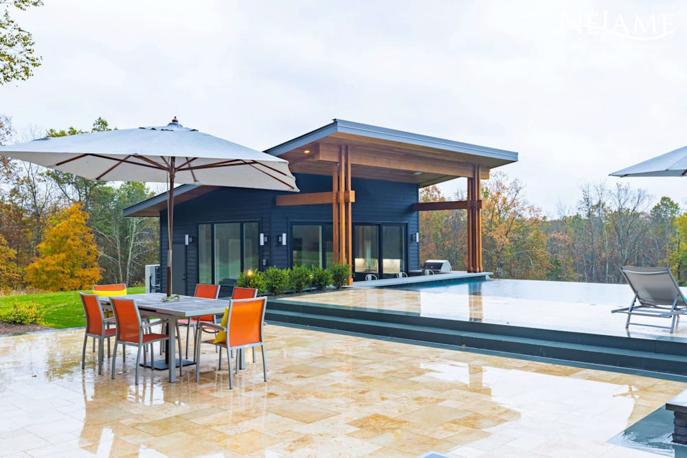 Photo of The Pool House and Patio
